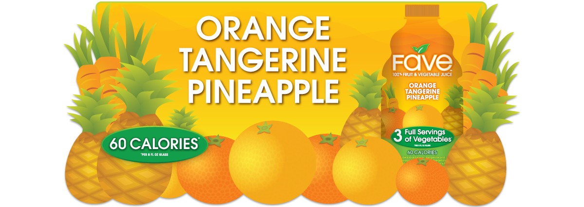 Orange-Tangerine-Pineapple